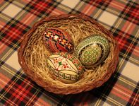 Easter eggs from the Bucovina region
