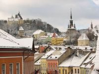 The Church on the Hill from Sighisoara
